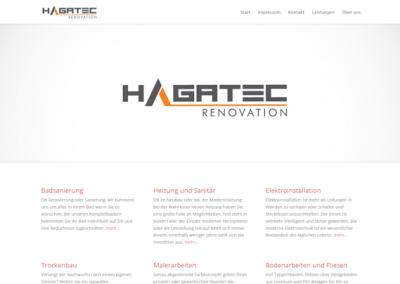 Снимка на уеб сайта Hagatec