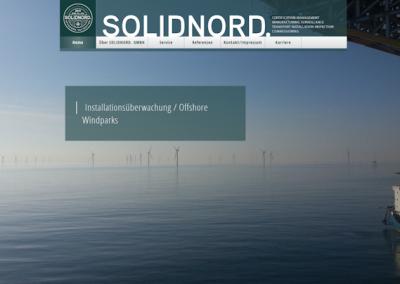 Снимка на уеб сайта SolidNord